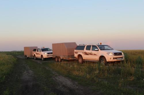 OreVision IP project in Northern Kazakhstan 2018